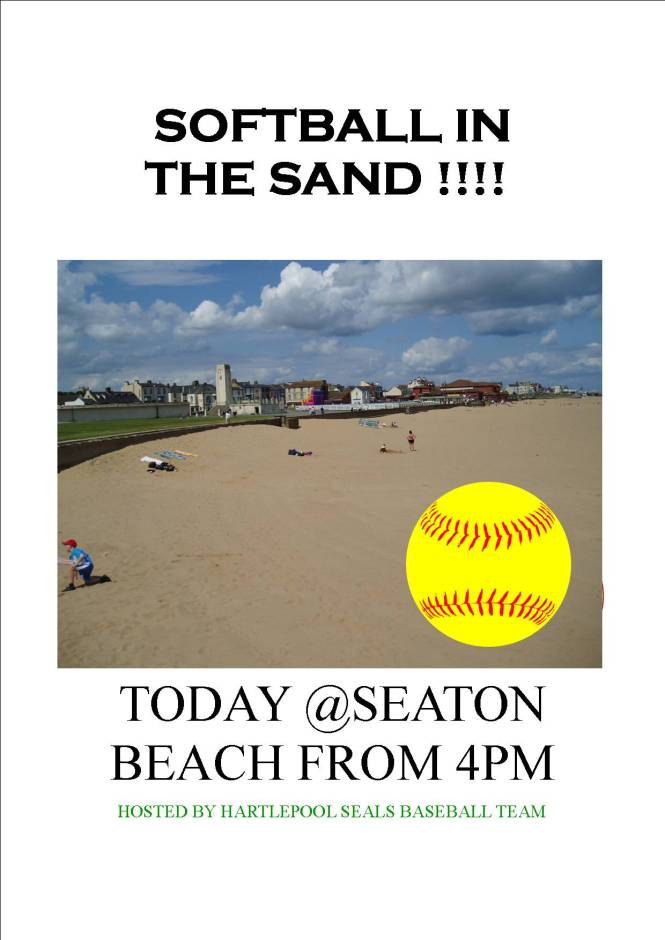 softball in Sand